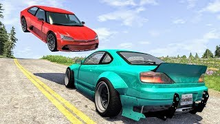 High Speed Traffic Crashes #31 - BeamNG Drive | CrashBoomPunk