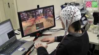Graz-BCI Game Controller - World of Warcraft Mindcontrolled thumbnail