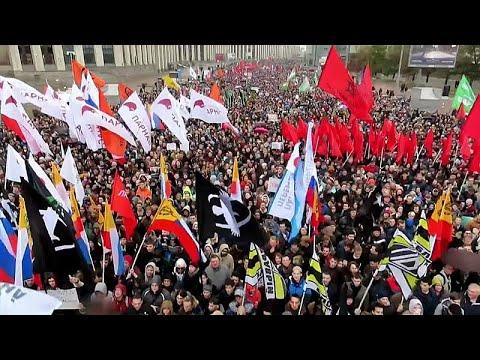 Russos exigem libertação dos detidos nas manifestações de julho