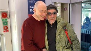 Гордон и Горбунов встретились в поезде