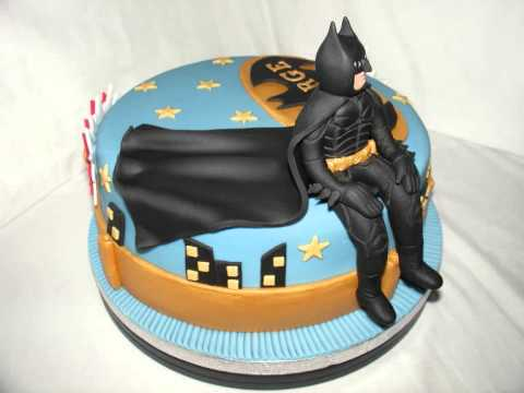 Batman The Dark Knight Fondant Cake Youtube