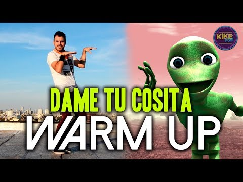 WARM UP - DAME TU COSITA (DJ EDGAR)