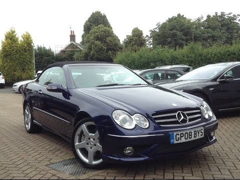 Mercedes-Benz CLK 3.0 CLK280 Sport 7G-Tronic for Sale at CMC-Cars, Near Brighton, Sussex