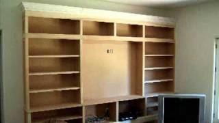 Vid00146 Custom Built In Entertainment Center Remodel By Dav