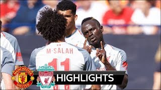 Manchester United vs Liverpool 1-4 - All Goals & Highlights - ICC 2018 HD