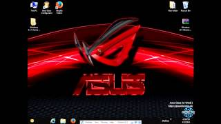 ASUS ROG Windows 8.1 Theme by ~ Tiger