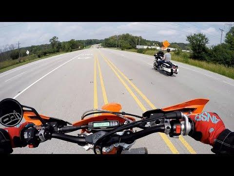 KTM  EXC SUPERMOTO - POLSKI MOTOVLOG