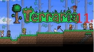 terraria part 11 deathbringer pickaxe!!!