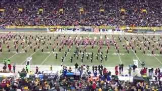 Pulaski High School Halftime show at Lambeau Field - November 30, 2014