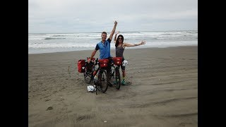 Ryan and Ali Cycle Across America-Ep 1-Kissing the Pacific Ocean thumbnail