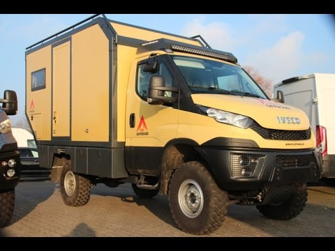 nice campers 4x4 globetrotter iveco daily 4x4 youtube. Black Bedroom Furniture Sets. Home Design Ideas