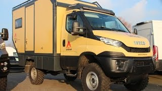Nice Campers 4x4. Globetrotter. Iveco daily 4x4.
