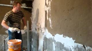 Как приготовить дешёвую гипсовую смесь самому(Чем можно подешевле выровнять стены или Как приготовить дешёвую гипсовую смесь самому., 2013-02-16T19:31:06.000Z)