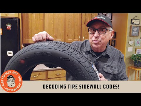 Decoding Tire Sidewall Codes!