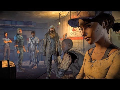 Clementine, Javier, Tripp, Jesus Get into Jail in Richmond (Walking Dead | Telltale Games)