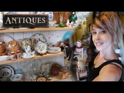 Is this Antique Shop Abandoned? | Detour Through Warsaw NY | Reselling