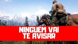 10 DICAS que o jogo NÃO TE FALA em Red Dead Redemption 2