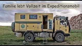 Reisen statt Arbeiten - diese Familie lebt seit 3 Jahren im Expeditionsmobil | Van Life Roomtour