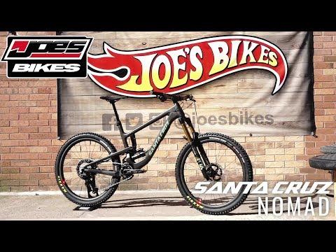 Joe's Bikes - Santa Cruz Nomad Bike Build