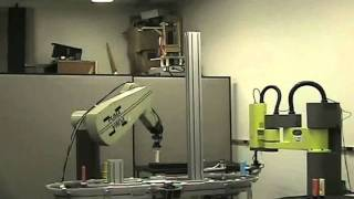 Robotic Workcell Automated Using Mobile Agent System Mobile-C