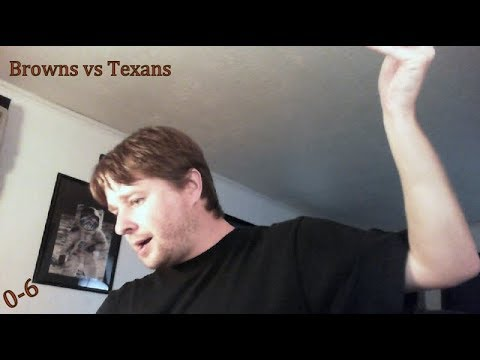 Cleveland Browns vs Houston Texans post game recap video