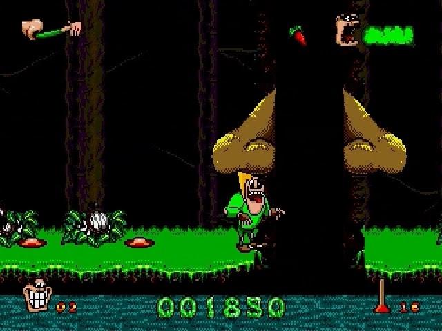 Jouez à Boogerman sur Sega Megadrive grâce à nos Bartops Arcade et Consoles Retrogaming