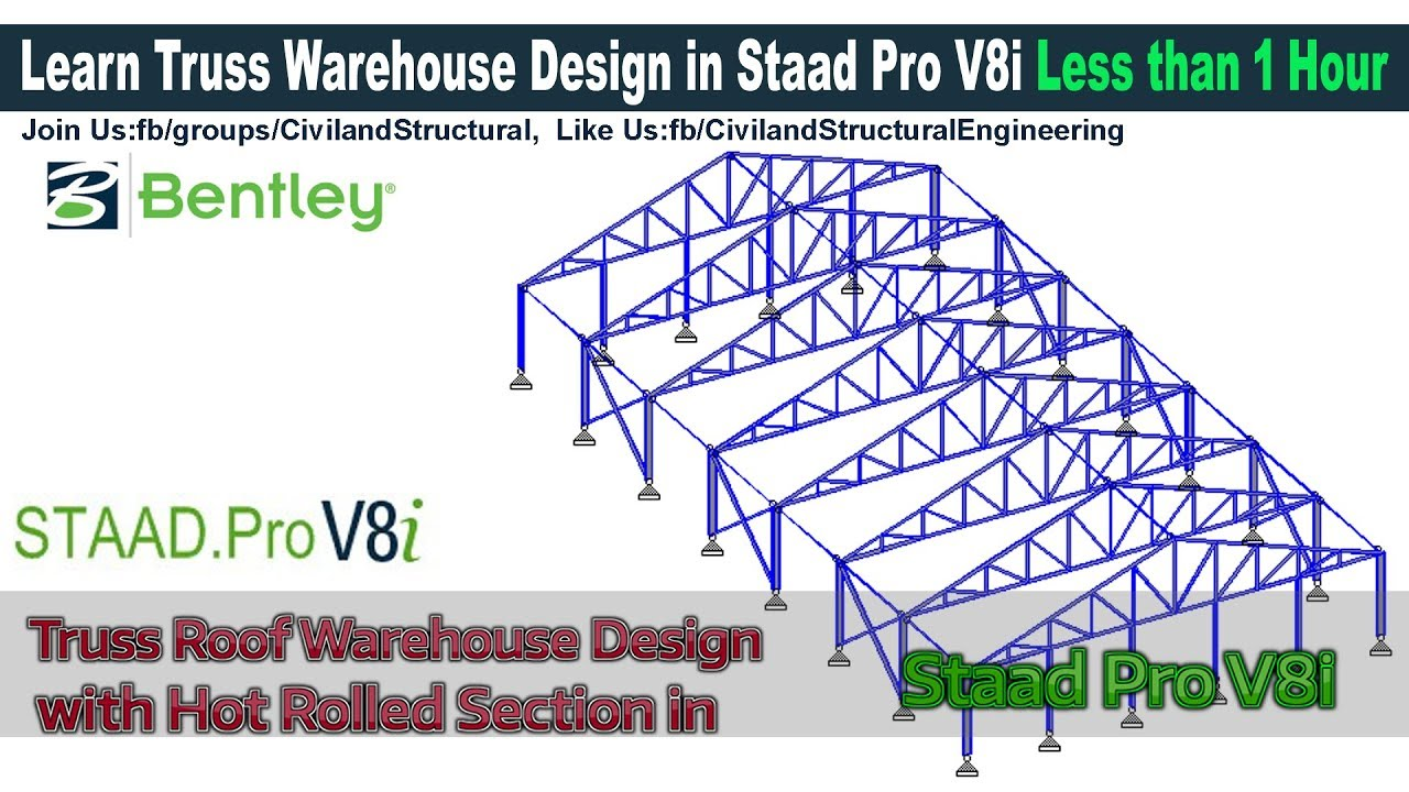 Truss Roof Warehouse Design With Hot Rolled Section In