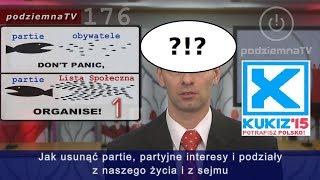 Kukiz'15 aLista Społeczna – jaka toróżnica?