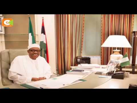 Nigeria's president Buhari forced to work from home after rodents allegedly destroyed his office.