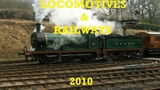 LOCOMOTIVES & RAILWAYS - 2010