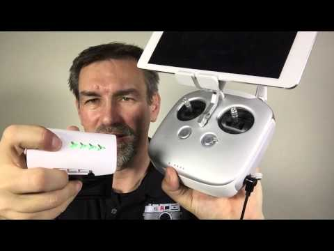 DJI Inspire 1 – Loading Cable from Battery to Remote Control (English)