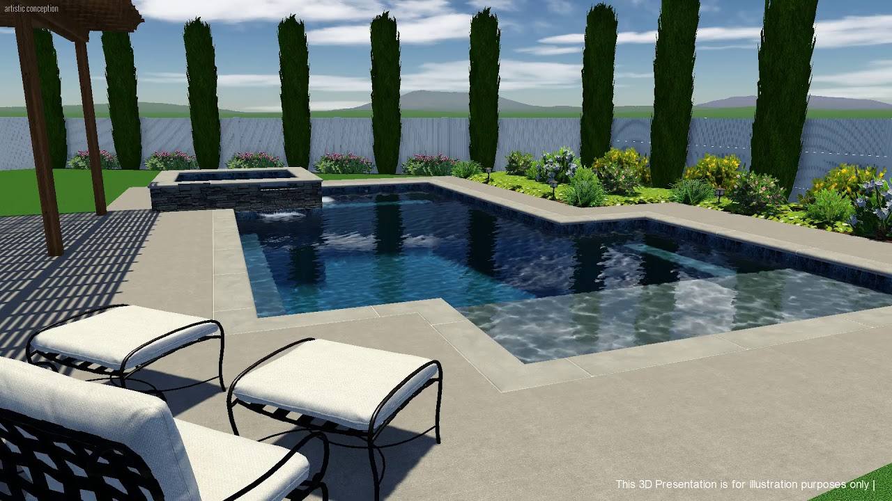 Machado Swimming Pool Concept