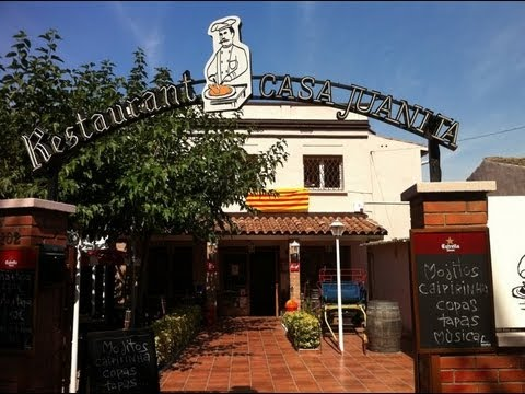 Restaurant casa juanita cal ots barcelona restaurant montcada youtube - Restaurant casa juanita ...