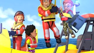 Fireman Sam Full Episodes | Best of Sam 🚒Land and Sea Rescues | Cartoons for Children
