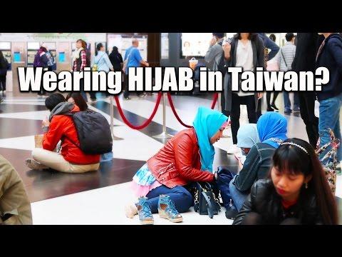 Wearing HIJAB in Taiwan? Ask Muslims in Taipei 台灣友善對穆斯戴頭巾的女性