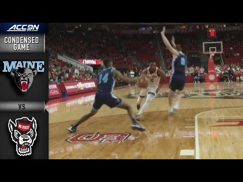 Maine vs. NC State Condensed Game | 2018-19 ACC Basketball