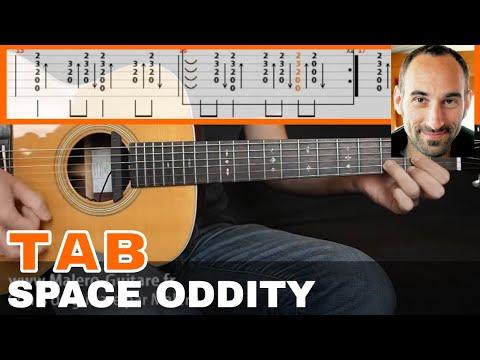 Space Oddity Guitar Tab
