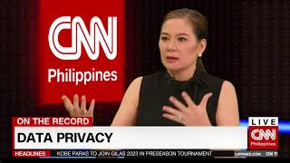 On the Record: Data Privacy