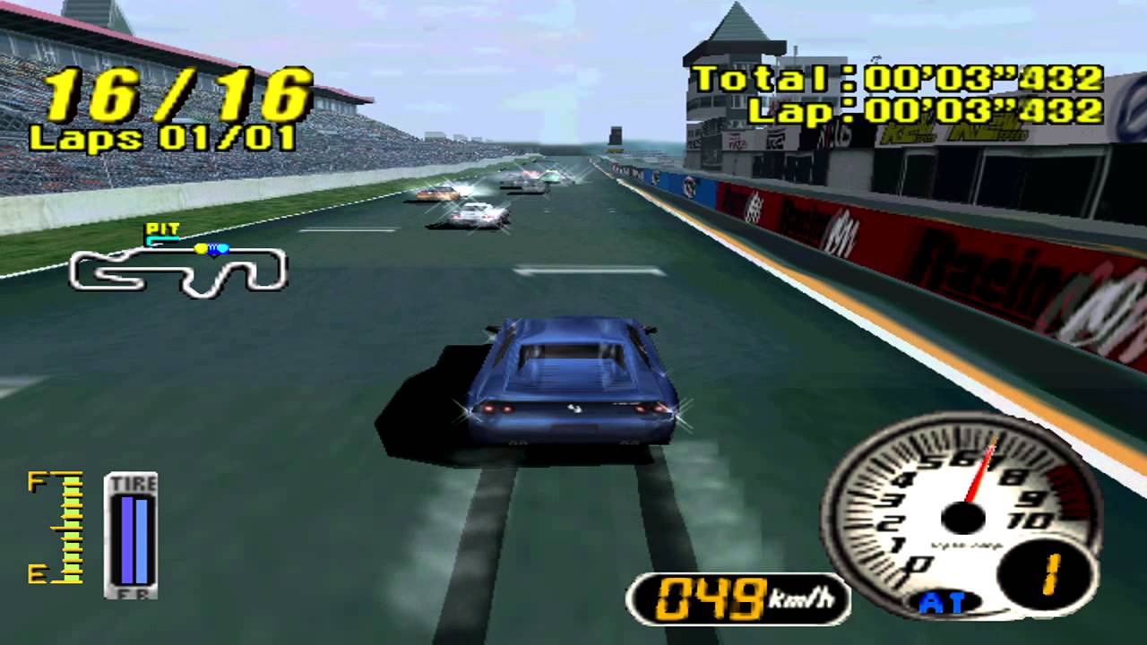 ADVAN Racing PS1,