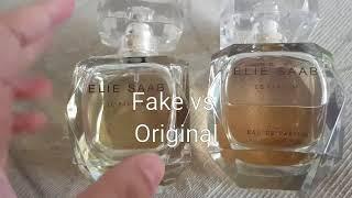 Elie Saab Le Parfum Fake (Tester Reject) VS Authentic