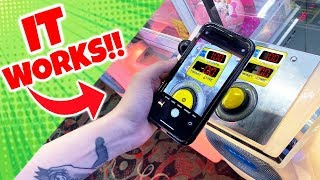 How To Get FREE Plays On An Arcade Claw Machine! (IT WORKED!)