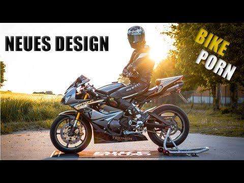 NEUES DESIGN | TRIUMPH DAYTONA  | BIKE PORN