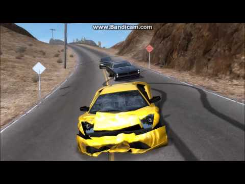 Need for Speed Prostreet High Speed Crash Compilation