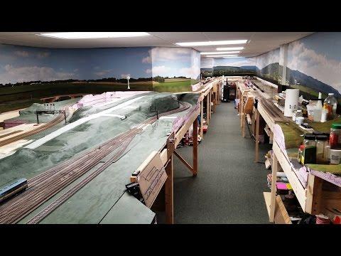 Model Railroad Update 64- Layout Tour