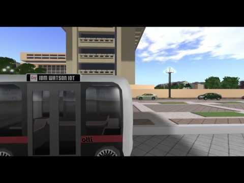 Local Motors Olli 3D Simulation for Washington DC (Encitra)