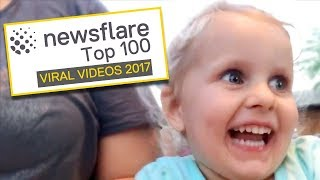 TOP 100 VIRAL VIDEOS OF THE YEAR 2017 (50-1) || NEWSFLARE