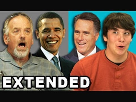 EXTENDED - Teens/Elders React to Election 2012