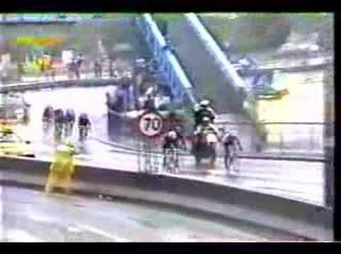 Championnat du monde de cyclisme-business professionnel : soleil et pluie permettent l'arc-en-ciel !