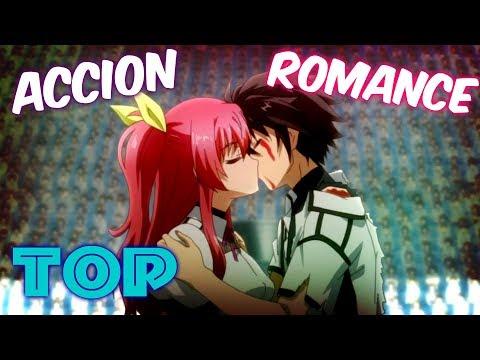 ⛔ TOP 8: Los MEJORES Animes De ACCION Y ROMANCE !!.🧡