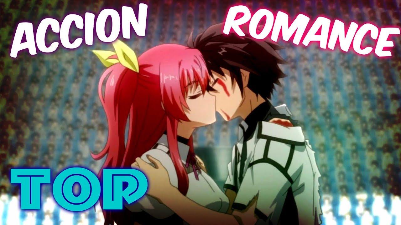 ⛔ TOP 8: Los MEJORES Animes de ACCION y ROMANCE !!.🧡 - YouTube